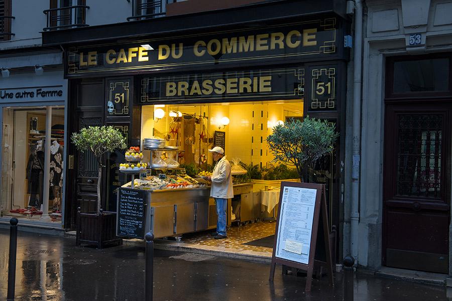 Restaurant Avec Menu Le Soir Paris